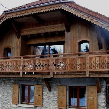 Chalet, Les Comtamines (74)